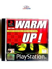 Warm Up! PSX PS1 Playstation Como Nuevo Completo Retro Mint State PAL/SPA
