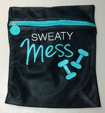 1Underwear/Bras Mesh Laundry Washing Machine Bag Polyester Zipper Black 8.5x7.5