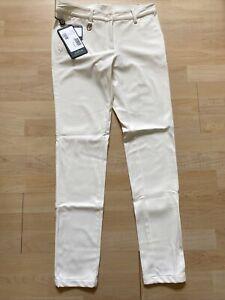 NWT Chervo Ladies Stigma Golf Pants 62371 102 Ivory Sz US 6 ITA 42 NEW