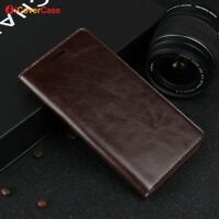 Luxury Genuine Leather Wallet Flip Case Stand Cover For Xiaomi Mi Note 2