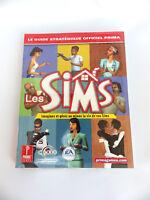 Les SIMS guide stratégique FR officiel prima book soluce neuf sous plastique