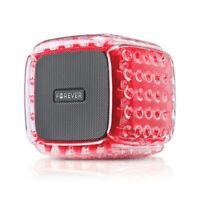 Forever BS-700 BumpAir Bluetooth Lautsprecher Wireless tragbare Box Stereo Sound