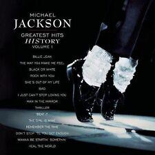 Jackson Michael Vol 1 Greatest Hits History 2001 CD