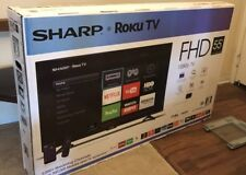 NEW Sharp 55 Inch Class LED 1080p SMART FULL HDTV Roku TV LC-55LB481U SEALED BOX