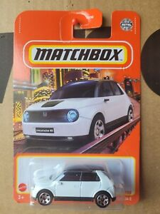 MATCHBOX 2021 - 2020 HONDA E [WHITE] NEAR MINT VHTF CARD GOOD COMBINED POSTAGE
