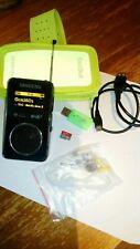Sangean DPR-36 DAB+/FM-RDS/MP3/Micro SD/Radio recorder  Pocket Radio & Mp3