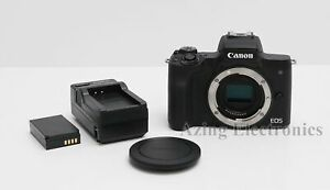 Canon EOS M50 24.1MP Mirrorless Digital Camera (Body Only)