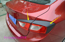 Carbon Fiber sticker Rear Tail Light Lamp Eyebrow trim For Chevrolet Cruze 17-18