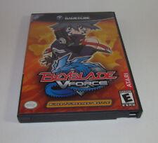 Beyblade: V Force -- Super Tournament Battle Nintendo GameCube Complete CIB Good