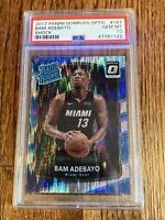 🔥2017 Panini Donruss Optic BAM ADEBAYO Shock Rated Rookie #187 PSA 10🔥