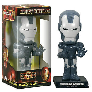 Marvel IRON MAN grafito bobble-head 15cm Funko