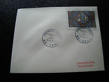 FRANCE - enveloppe 1er jour 5/6/1965 (vitrail cathedrale sens) (cy51) french (A)
