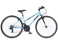 Vélos bleus avec des freins en v