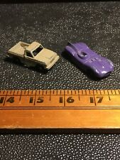 Vintage Tootsie Toy Cars Lot - Old Metal Truck & Race Car