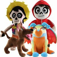Movie Coco Hector Miguel Pepita Dante Soft Plush Toys Stuffed Doll Kid Xmas Gift