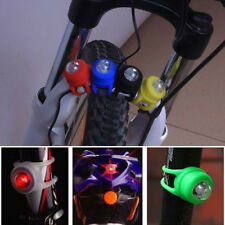 Bike Bicycle Cycling LED Frog Front Rear Flash Warning Light Bulb Silicone Lamp