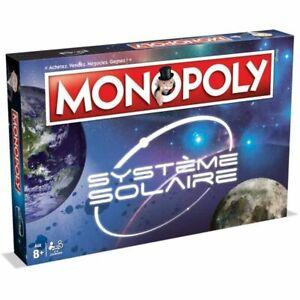 Hasbro Monopoly Systeme Solaire Jeu Société Winning Moves Espace