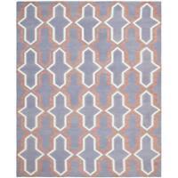 Safavieh Torri dhurrie wool flatware rug 10x14' never used