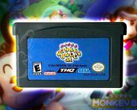 Super Monkey Ball Jr. [Nintendo Game Boy Advance Puzzle Racing Collect Bananas!!