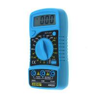 ANENG Digital LCD Voltmeter Ammeter Ohmmeter Multimeter 600V Voltage AC DC Meter