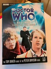 Doctor Who: New Beginnings The Keeper of Traken / Logopolis / Castrovalva 3 Disc
