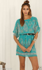 Spring Regular Dresses for Women with Blouson