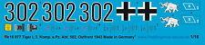 Peddinghaus 0977 1/16 3. comp. NERO ESERCITO CARRO ARMATO abate. 502