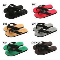 Mens Summer Beach Thong Flip Flops Slippers Casual Rubber Slip On Sandals Shoes