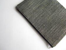 Black White sleeve, case, cover for MacBook Air/Pro 13, handmade, upholstery