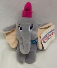 "Walt Disney World Store Dumbo Elephant 6"" Bean Bag Stuffed Animal New w/ Tag"