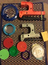 2 Badge A Minit Button Pin Maker Tools and Circle Cutter As Pictured