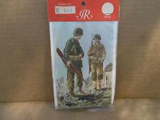 3 Sets Imrie/Risley Sealed Bags U.S WW II/Robin Hood Will Scarlet/Terry,s Texas