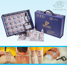 17 Set Cupping Set Cupping Vacuum Bell Cupping Massage Hansol Suction Glasses