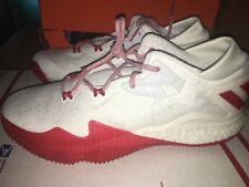 NEW Adidas SAMPLE PE Crazylight Boost 2016 NBA Rockets Harden White Red PK sz 13