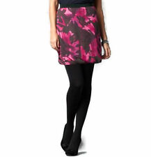 Above Knee Polyester Floral Regular Size Skirts for Women