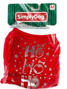 Simply Dog Dog Vest Christmas Outfit Puppy Pet Clothing Size Medium