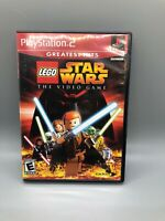 LEGO Star Wars: The Video Game ps2 (Sony PlayStation 2, 2005) Manual Included