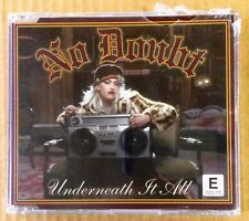 New CD Single - No Doubt Underneath It All - 4 Track Import w/ Acoustic & Video