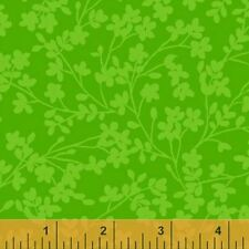 Quilting Fabric - Spin by Whistler Studios Green - Windham Fabrics - Per Yard
