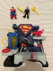 Imaginext DC Comics Super Friends Superman General Zod Fortress Playset