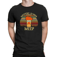 The Muppet Show Beaker Meepers Gonna Meep Vintage Black Men's T Shirt Cotton Tee