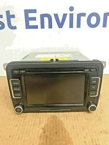 VW RCD 510 6 CD Changer Radio SD With Code, Excellent Condition, Golf,Passat,etc