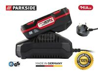 Parkside 20v 2Ah Battery & Charger for cordless Circular saw PHKSA 20-Li A1 & A2
