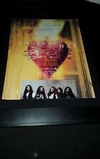 Dream Theater Another Day Rare Original Radio Promo Poster Ad Framed! #2