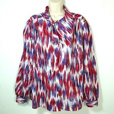 Jonquil By Judy Bond Women's Size 20W Blouse Top Button Front Long Sleeve