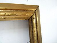 ANTIQUE   GREAT QUALITY GILT FRAME FOR PAINTING  16 X 12 INCH  (d-19)