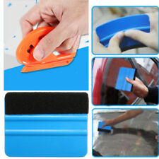 Vinyl Safety Cutter & Felt Edge Squeegee Scraper Car Wrapping Tools New Useful