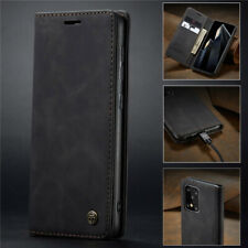 For Samsung Galaxy A11 A51 A71 Magnetic Genuine Leather Wallet Flip Case Cover