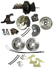 """1973-87 Chevy Truck Complete Front & rear disc brake kit 12"""" rotors"""
