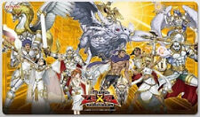 Yugioh Konami Official RUBBER PLAYMAT Lightsworn Judgment Japanese Mint!